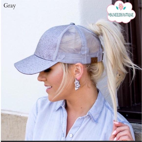 8f12c281 C.C Accessories | Cc Messy Hair Ponytail Hat Limited Supplies | Poshmark
